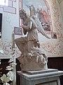 Lagorce - Église - Intérieur - Autel - Ange droit.jpg