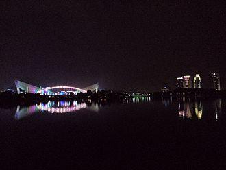 Cyberjaya - Night view at Cyberjaya Lake Garden