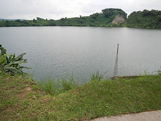 Tadlac Lake - The lake as seen from the eastern shore in 2013