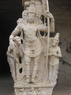 Lakshmana Younger brother and close companion of the Hindu god Rama