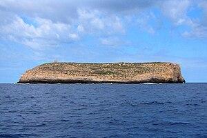 Lampione - Image: Lampione islet