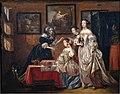 Lancelot Volders - Ladies with their servants.jpg