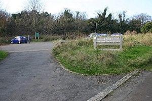 English: Lancing Ring Car Park Car Park for La...