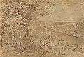 Landschap met pelgrims, Pieter Bruegel I, Koninklijk Museum voor Schone Kunsten Antwerpen, 5098.jpg