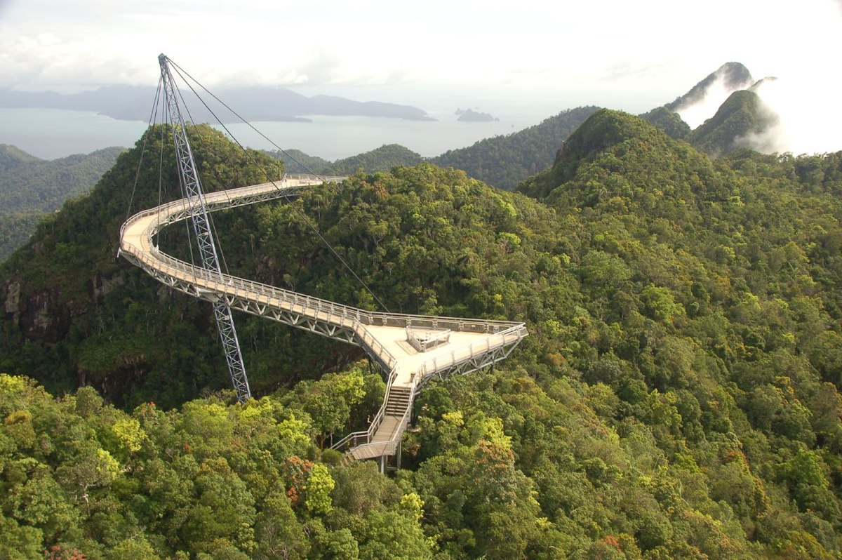 Image result for Langkawi Sky Bridge, Malaysia