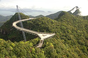 Langkawi Sky Bridge - Langkawi sky bridge in 2007