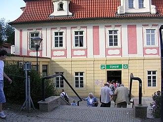 Petřín funicular - Újezd station