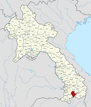Sanamxay District - Image: Laos Sanamxay District