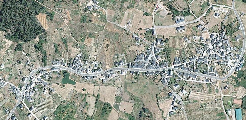 Larouco, 2013. PNOA cedido por © Instituto Geográfico Nacional