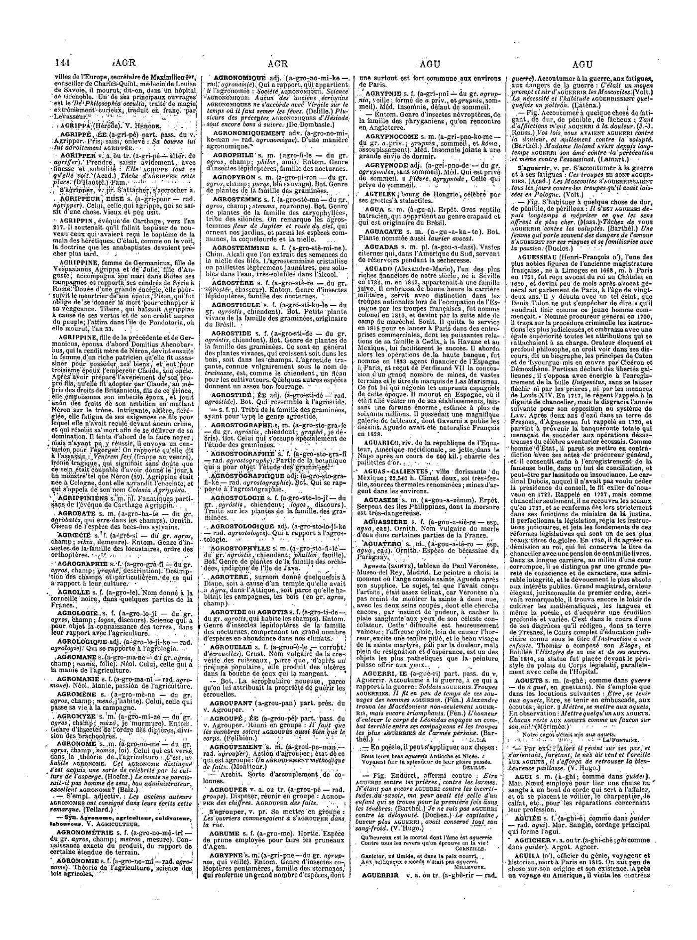 Page Tome Dictionnaire 1 Universel larousse Grand Du Siècle Xixe ZkXOPiTu