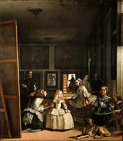 Las Meninas, Diego Velázquez, 1656, Museo del Prado