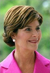 Laura Bush, current First Lady of the United States (2001-present)