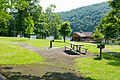 Laurel Hill State Park Lake, Lakeview Pavilion, and picnic area.jpg