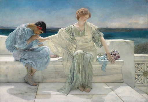Lawrence Alma-Tadema - Ask Me No More