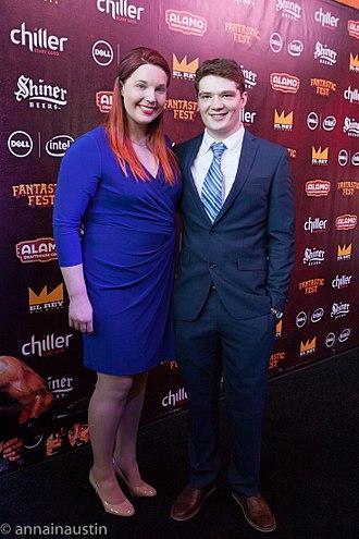 Michael Jones (actor) - Michael and his wife Lindsay Jones