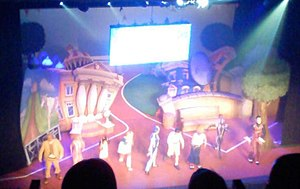 LazyTown - The 2007–08 LazyTown Live show at the Alexandra Theatre, Birmingham