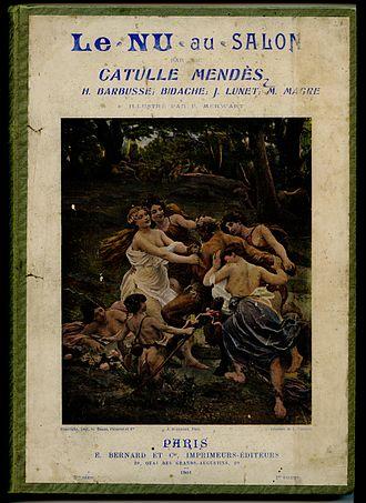 Catulle Mendès - Image: Le.nu.au.salon.1900