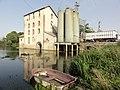 Le Boulay (Sarthe) la Sarthe avec le moulin.jpg