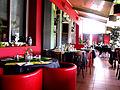 Le Cercle Républicain Jonquières Salle du restaurant.JPG