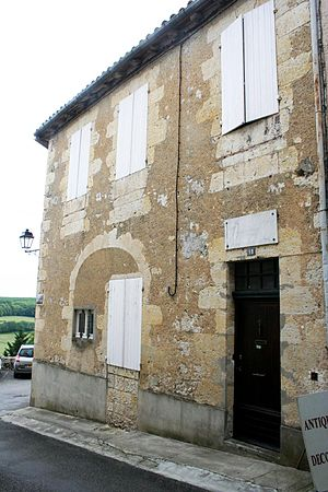 Jean Lannes - Lannes' birth house in Lectoure