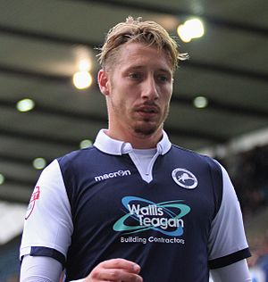 Lee Martin (footballer, born 1987) - Image: Lee Martin Millwall Vs Swindon Town (21633937524) (cropped)
