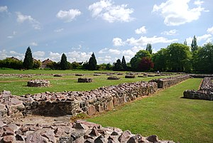 Leicester - Leicester Abbey ruins, now part of Abbey Park