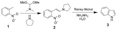Leimgruber-Batcho Indolsynthese