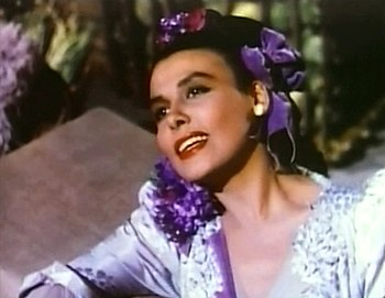 Cropped screenshot of Lena Horne from the film...