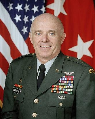 Leon J. LaPorte - Leon J. LaPorte as Major General