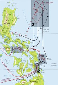 Leyte map annotated