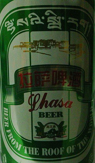Beer in Tibet - Lhasa Beer, the only Tibetan beer on the world market