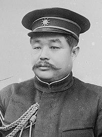 Li Yuanhong in military uniform