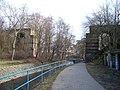 Libeň, bývalý železniční most přes Rokytku.jpg