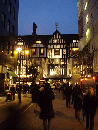 Liberty (department store) - View from Argyll Street