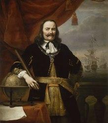 Ferdinand Bol: Lieutenant-Admiral Michiel de Ruyter (1607–1676)