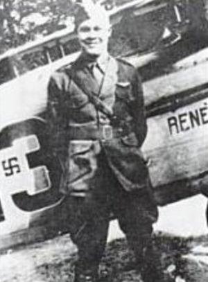 Karl John Schoen - Lieutenant Karl John Schoen 139th Aero Squadron