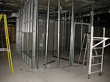 interior metal framing. Simple Interior Interior Partition Walls Made With Cold Formed Steel To Metal Framing A