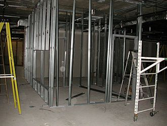 Framing (construction) - Light-gauge metal stud framing