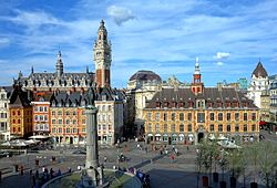 Image illustrative de l'article Place du Général-de-Gaulle (Lille)