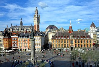 Lille - Grand' place, Lille city centre.