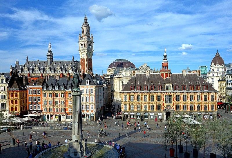 Самые красивые города Франции - Лилль, 10 самых красивых городов Франции, самые красивые города Франции, города Франции, самые интересные города Франции, куда поехать во Франции, что стоит посмотреть во Франции, лучшие места во Франции, лучшие города во Франции