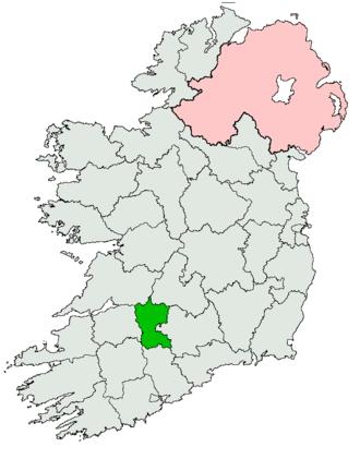 Limerick East (Dáil Éireann constituency) - Image: Limerick East Dáil constituency 1948 1961