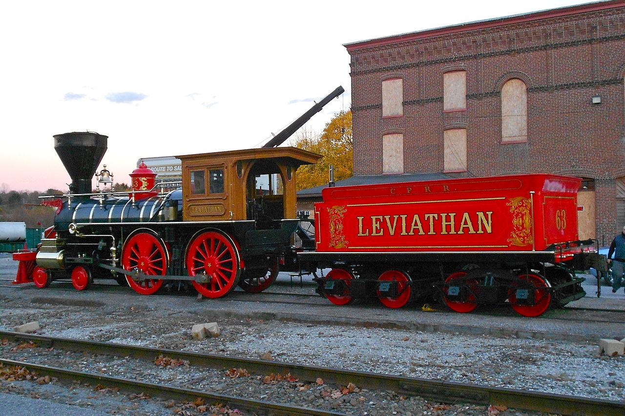 File Lincoln Funeral Train Repl Leviathan Jpg Wikimedia
