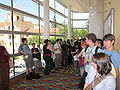 Line for FLOW panel at FanimeCon 2010-05-29 2.JPG
