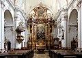 Linz - Ursulinenkirche, innen.JPG