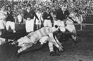 1936 British Lions tour to Argentina - The Lions v. Argentina national team, played on 16 August at GEBA