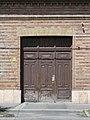 Listed dwelling building, gate at 3 Kiss János altábornagy Street, Esztergom, Hungary.jpg