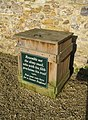 Litter Bin - Forde Abbey - geograph.org.uk - 1205455.jpg