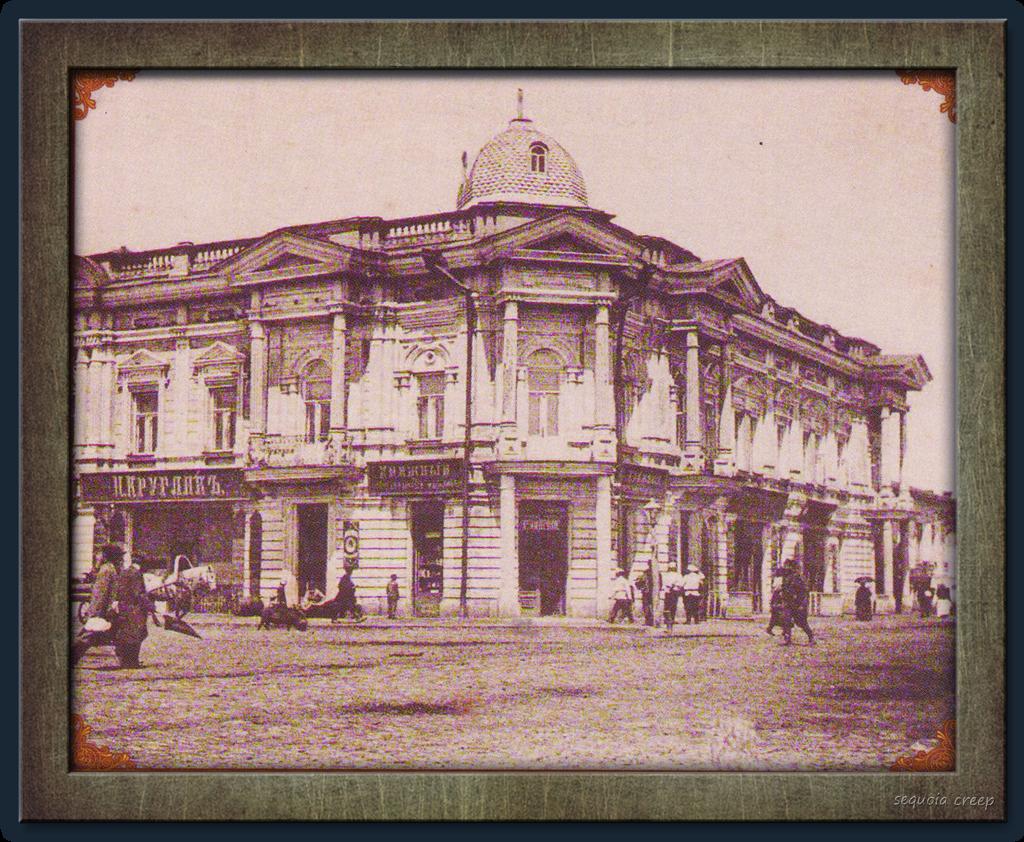 Дом Литвинского (ныне на его месте Горисполком)