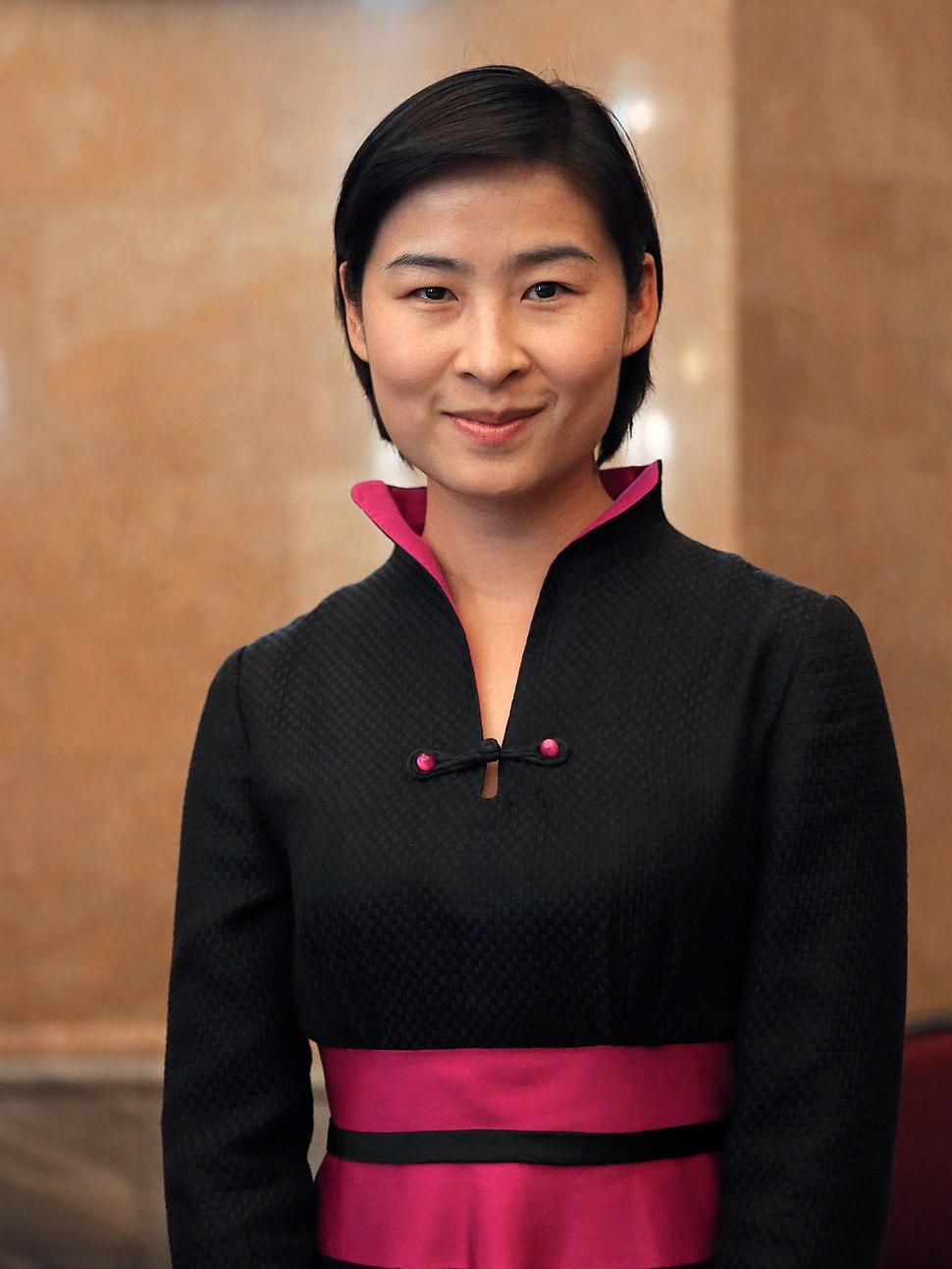 Liu Yang - UNOOSA 50 Years of Women in Space NHM Vienna 2013 a